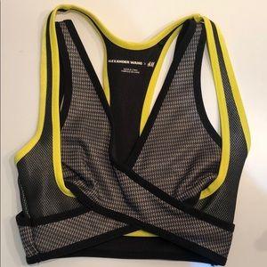 Alexander Wang X H&M Sports Bra Size 2